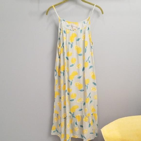76521ef23f7 Peyton & Parker Ivers Lemon Swing Dress in Large